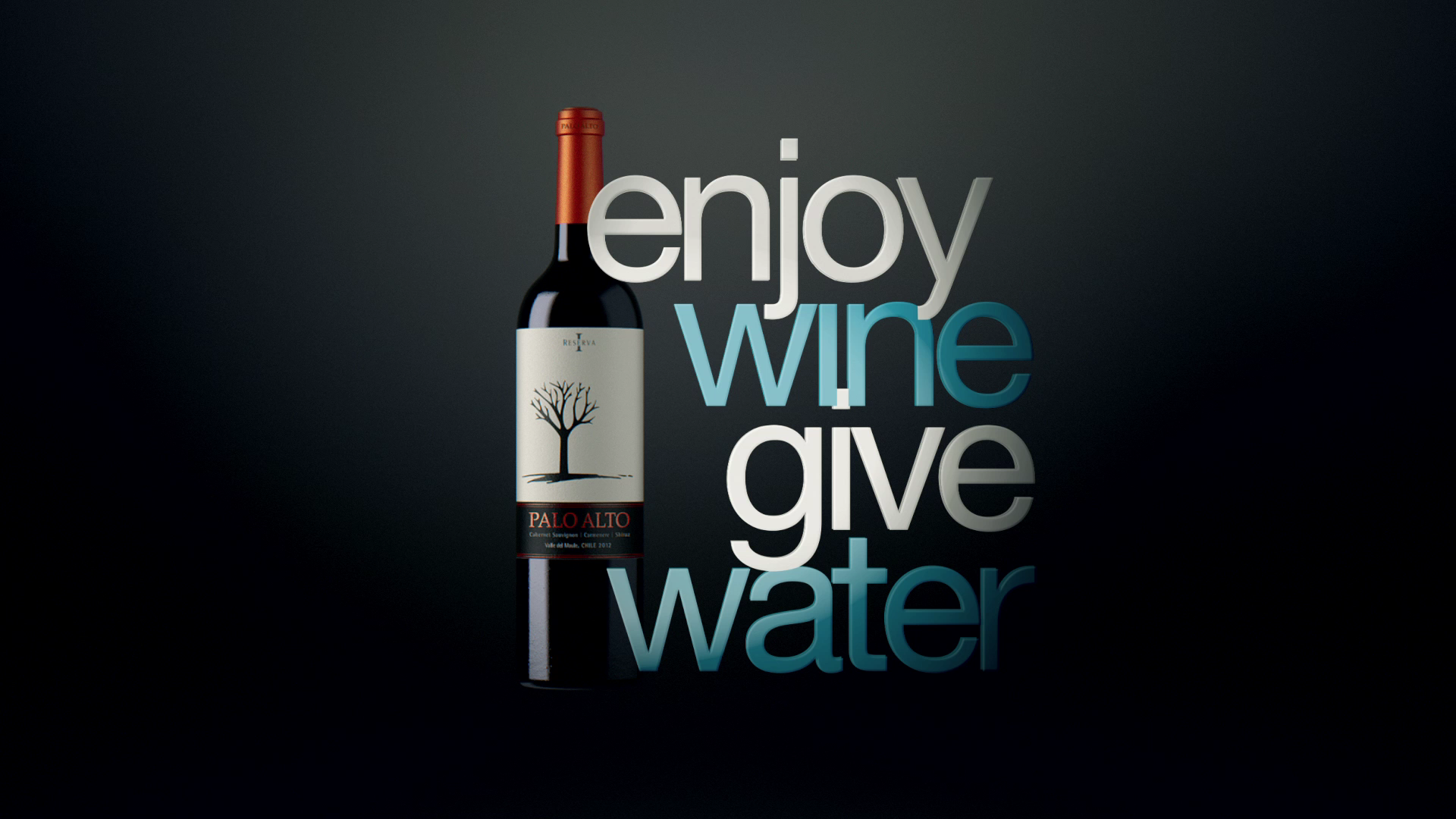 New Campaign Enjoy Wine, Give Water!